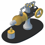 KB09 Beam Style Stirling Engine